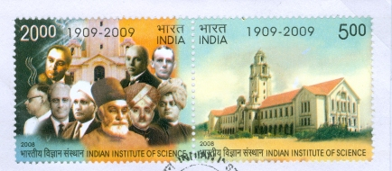 IISc Centenary Commemorative Stamp